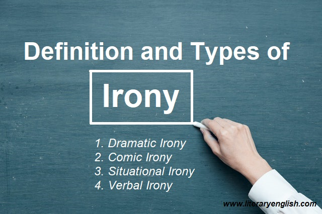 Definition and types of irony